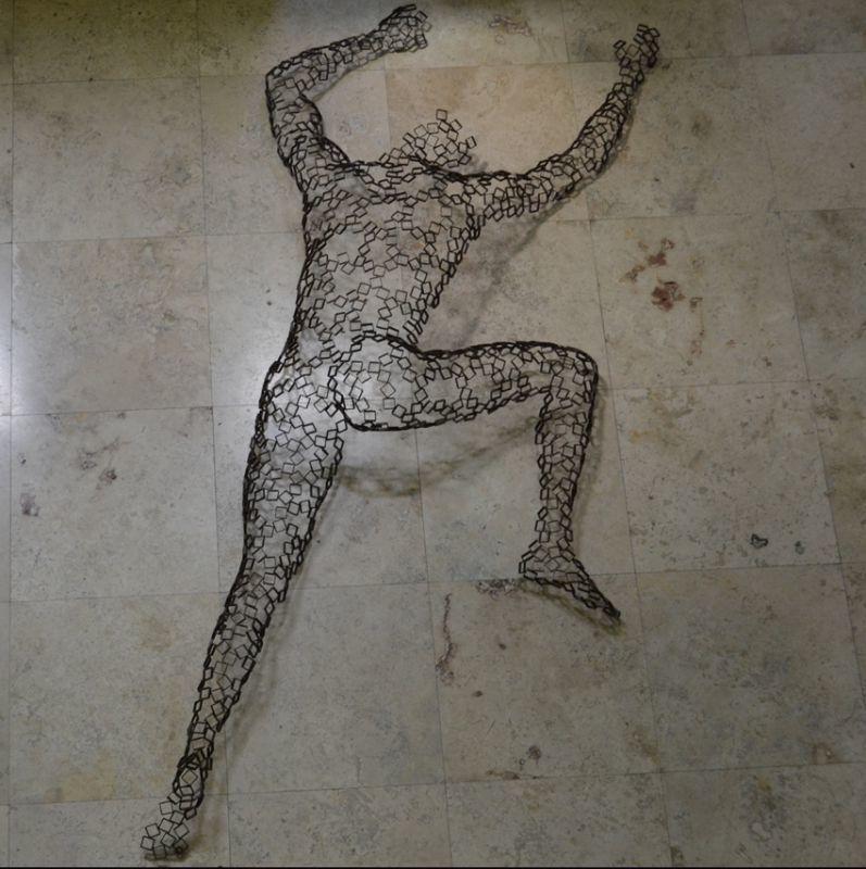 Rainer Lagemann, 'Sean.', Sculpture, Stainless Steel, Ode to Art