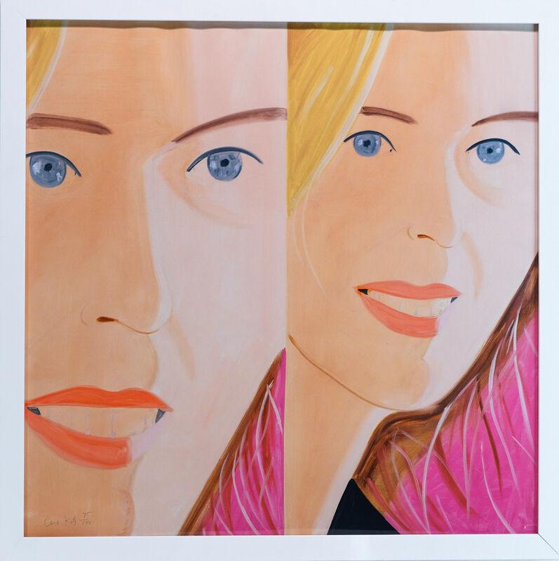 Alex Katz, 'Sasha 2', 2016, Print, Archival pigment print in colors on Crane Museo Max paper, West Chelsea Contemporary