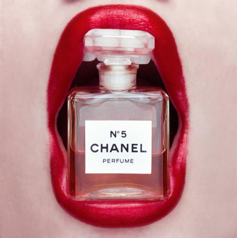 Tyler Shields, 'Chanel Mouth 1', 2016, Photography, Digital C-Print on Archival Paper, Isabella Garrucho Fine Art