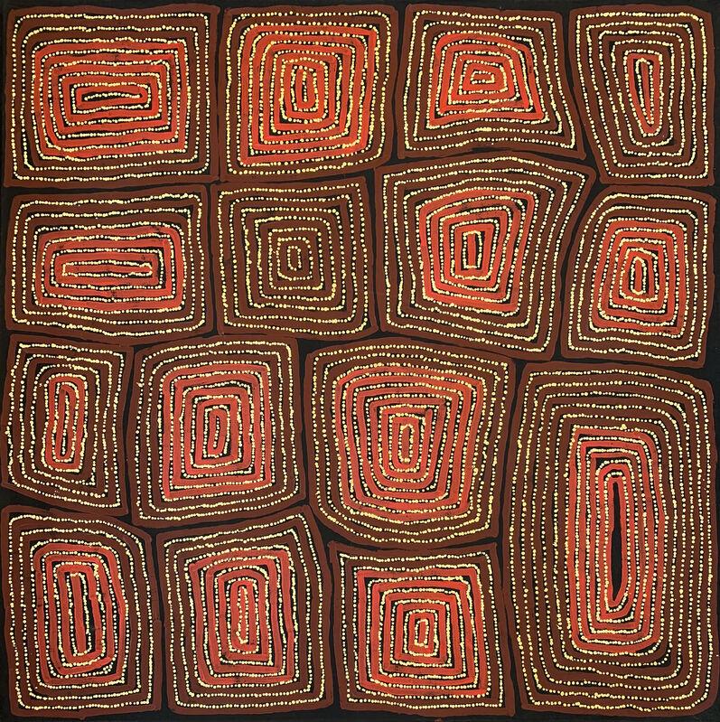 Thomas Tjapaltjarri, 'Tingari Cycle', ca. 2000, Painting, Acrylic on Linen, Wentworth Galleries
