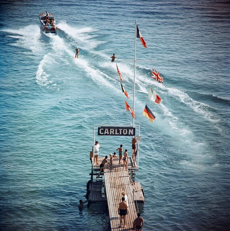 Slim Aarons, 'Cannes Watersports', Photography, C-print, Finarte