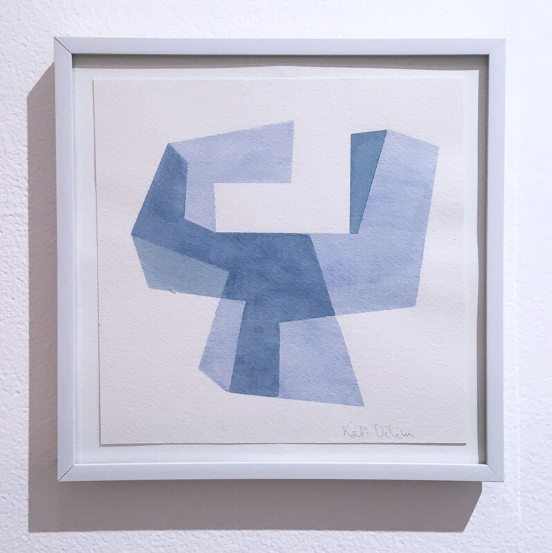 Kati Vilim, 'Almost Objectified V', 2020, Drawing, Collage or other Work on Paper, Watercolor on paper, Deep Space Gallery