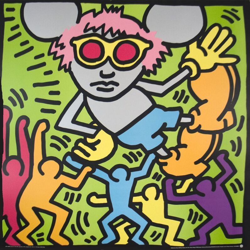 Keith Haring, 'Andy Mouse', (Date unknown), Print, Serigraph, ArtWise