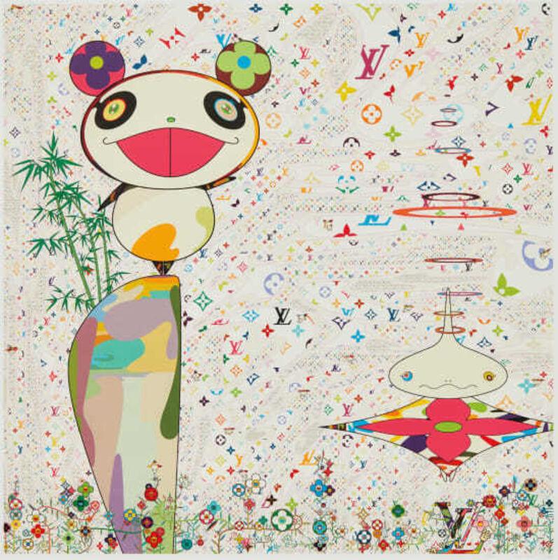 Takashi Murakami, 'Superflat Monogram: Panda & his Friends', 2005, Print, Screeprint in colors on Wove paper, Vertu Fine Art