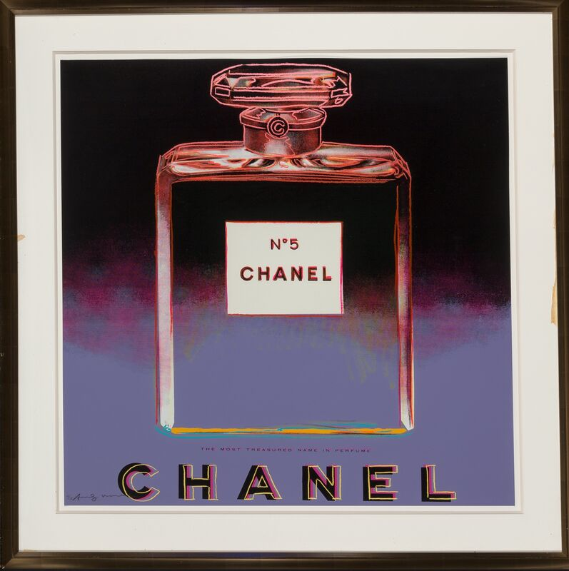 Andy Warhol, 'Chanel, from Ads', 1985, Print, Screenprint in colors on Lenox Museum Board, Heritage Auctions