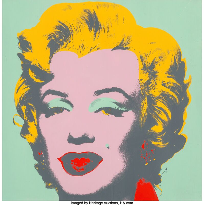 Andy Warhol, 'Marylyn Monroe (Marilyn)', 1967, Print, Screenprint in colors on paper, Heritage Auctions