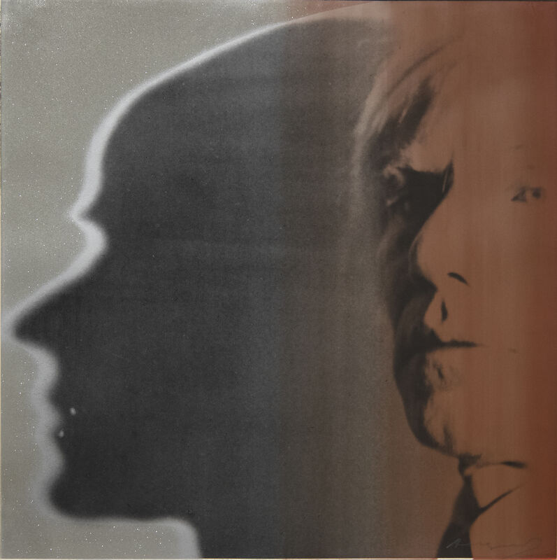 Andy Warhol, 'The Shadow ', 1981, Print, Color screenprint with diamond dust on paper, Heather James Fine Art