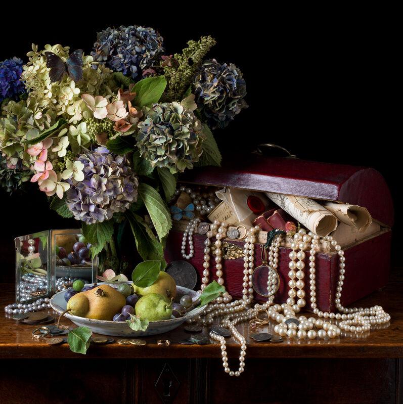 Paulette Tavormina, 'Vanitas I, Treasures, After E.C.', 2015, Photography, Archival digital pigment print, Robert Klein Gallery
