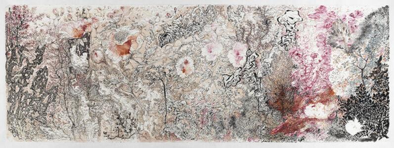 Peng Kanglong 彭康隆, '花石翻飞', 2015
