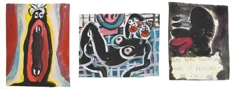 Jeffrey Spencer Hargrave, 'Scientist Believe That the Size of An Animal's Yawn Is Directly Proportionate To the Size of Its Brain | Matisse Double Black | She was sweating like a Feminist in Church', 2014