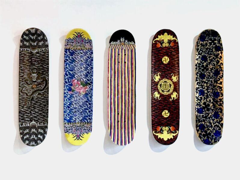 Huang Yulong 黄玉龙, 'Skateboard Series ', 2015