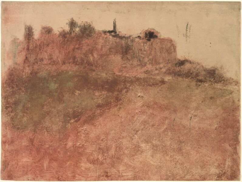 Edgar Degas, 'Estérel Village', c. 1890