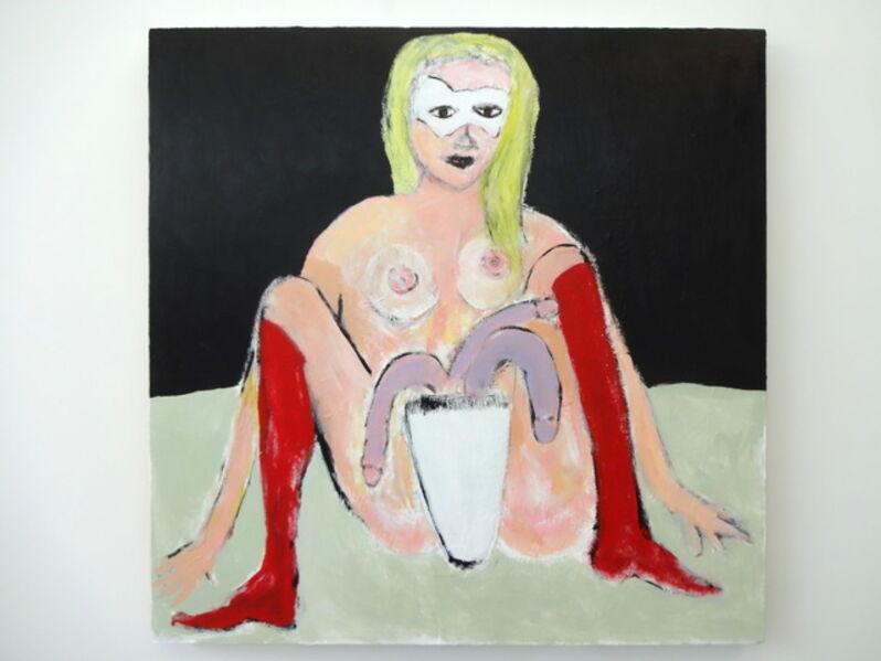 Nancy Elsamanoudi, 'Red Boots', 2018