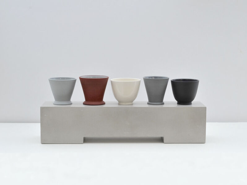 Julian Stair, 'Five Cups on a Ground', 2016