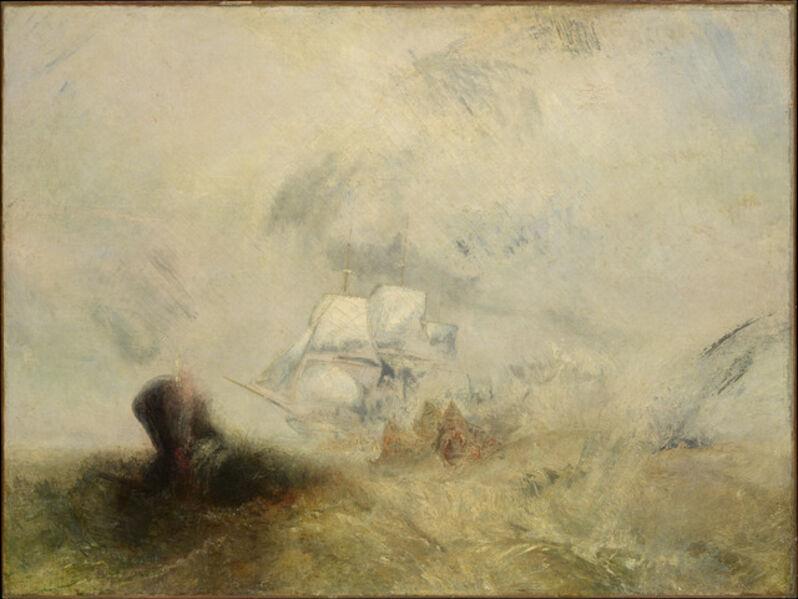 J. M. W. Turner, 'Whalers', ca. 1845
