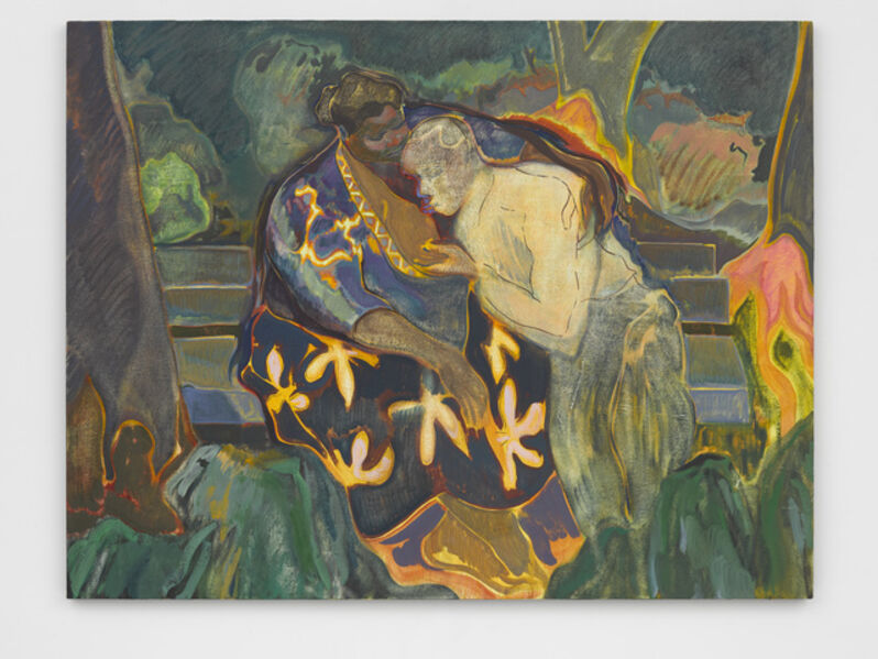 Michael Armitage, 'Muliro Gardens (bench)', 2016