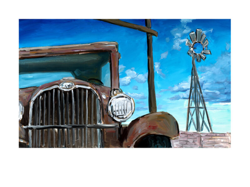 Bob Dylan, 'Wilton Iowa Farmyard (2019)', 2019