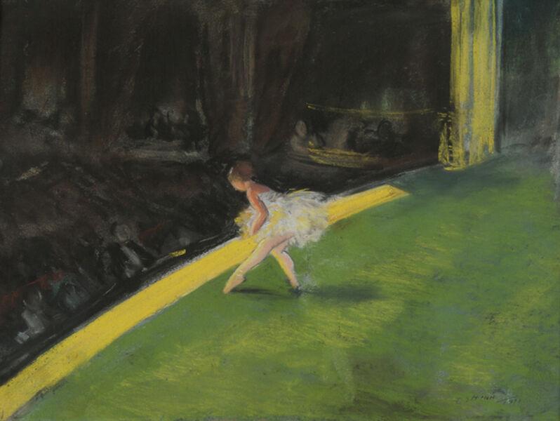 Everett Shinn, 'The Yellow Dancer', 1911