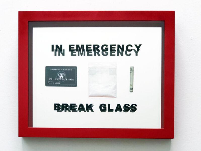 Plastic Jesus, 'In Emergency Break Glass', 2018
