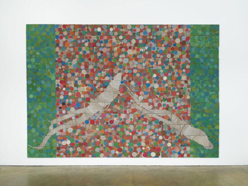 Elias Sime, 'Tightrope: Evolution (1)', 2017