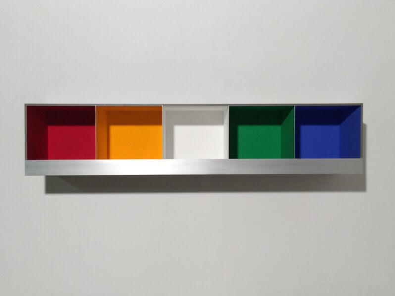 Adam Barker-Mill, '5 Colour Boxes', 2016