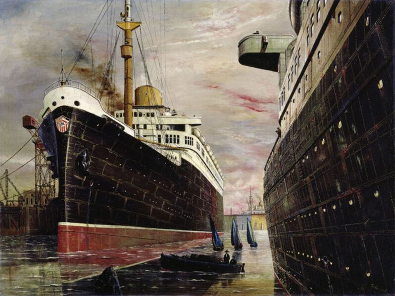 Franz Radziwill, 'The Harbor II (Der Hafen II)', 1930