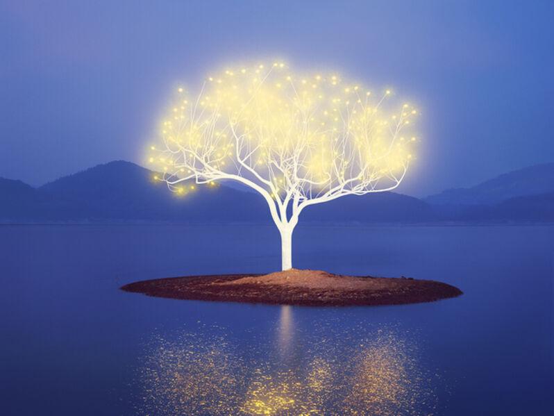 Lee Jeonglok, 'Tree of Life 6-2-7', 2017