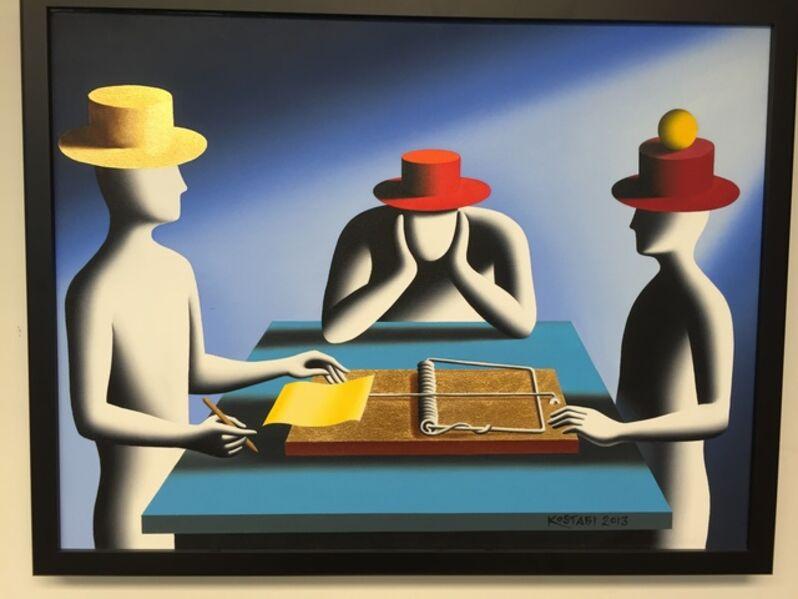 Mark Kostabi, 'ART OF THE DEAL (RISKY BUSINESS)', 2013