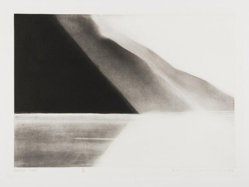 Norman Ackroyd, 'Wasdale Screes', 1982