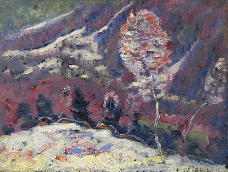 Marsden Hartley, 'Untitled (Landscape, Song of Winter Series)', 1908