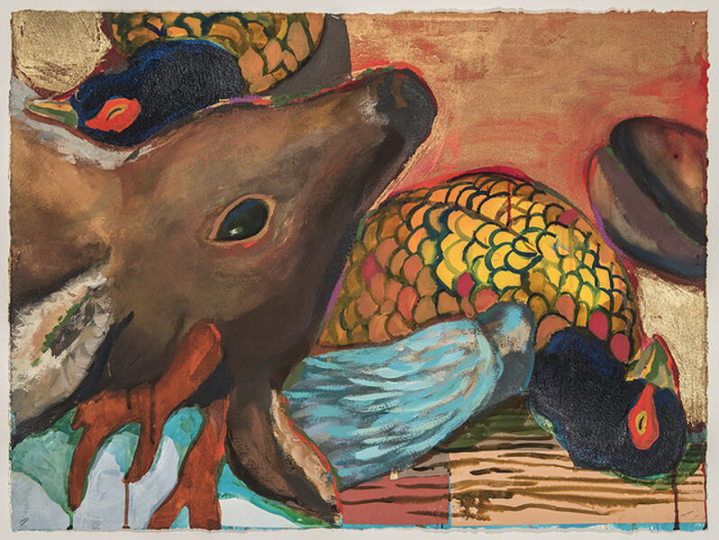 Karen Heagle, 'Still Life with Deer and Two Pheasants', 2018
