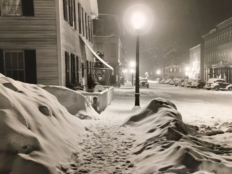 Marion Post Wolcott, 'Center of Town After Blizzard, Woodstock, VT', 1940-printed 1977