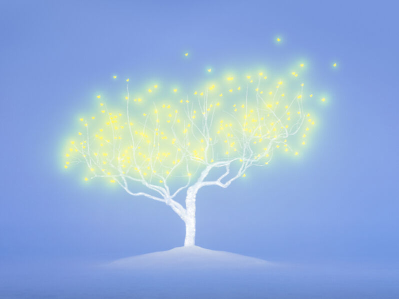 Lee Jeonglok, 'Tree of Life 4-6', 2015