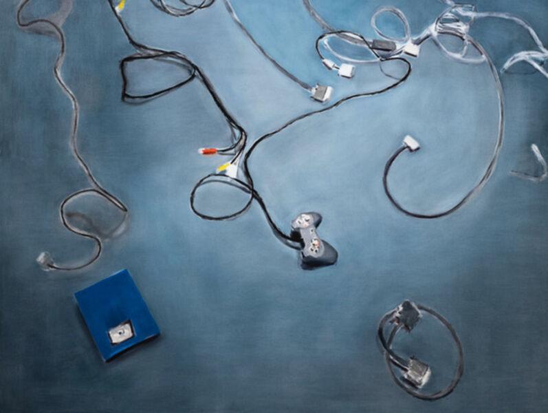 Miltos Manetas, 'My floor (zip drive)', 1997