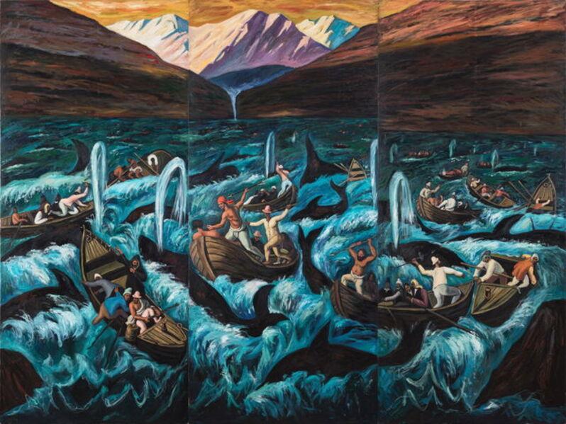 Qin Qi 秦琦, 'Whale Hunters ', 2019