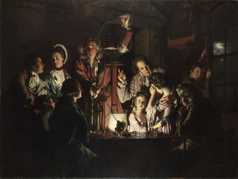 Joseph Wright of Derby, 'An Experiment on a Bird in the Air-Pump', 1768