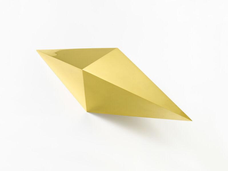 Jorinde Voigt, 'Integral / Polyeder, 4-eckige Doppelpyramide', 2018