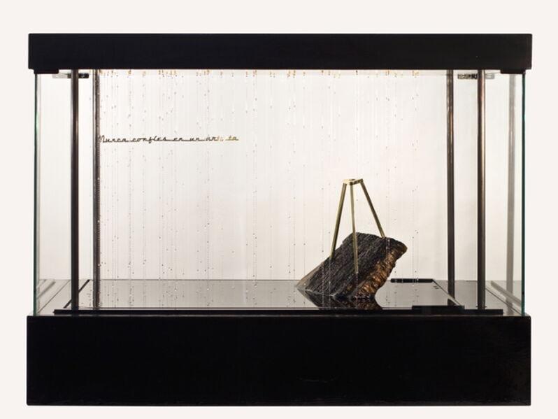 Sebastián Gordín, 'Never trust an artist', 2016