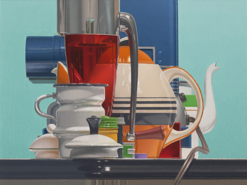 Harold Reddicliffe, 'Ice Crusher, Teapot, and Projector', 2018