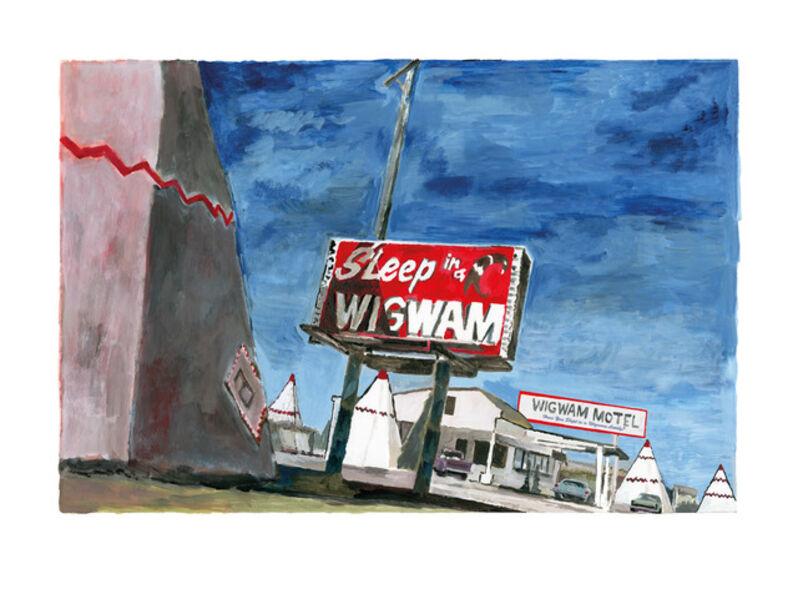 Bob Dylan, 'Holbrook, Arizona - Medium', 2016