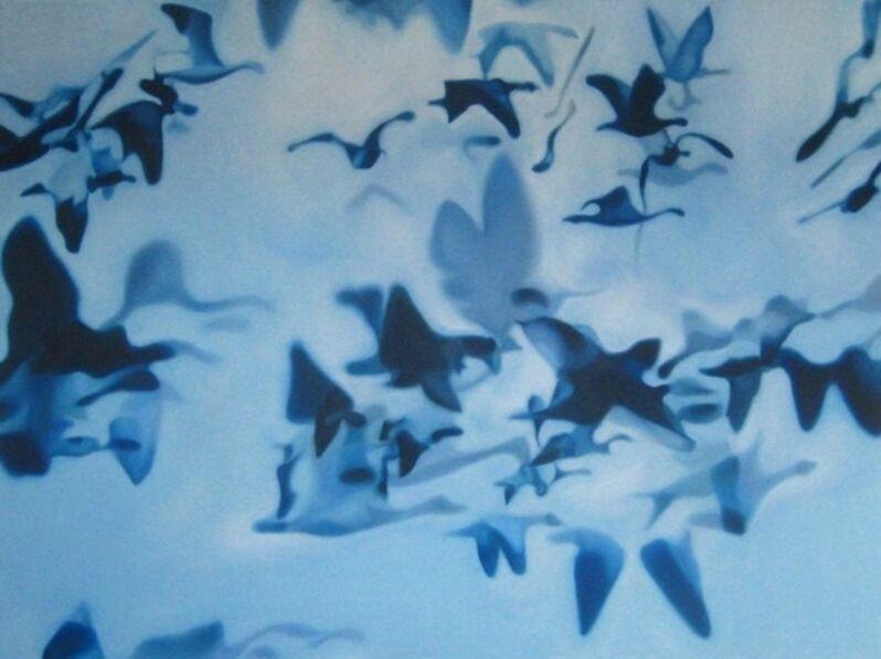 Pia Dehne, 'Blue Birds', 2013