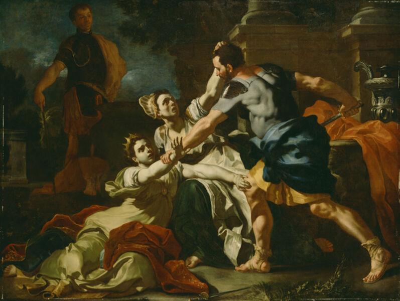 Francesco Solimena, 'Death of Messalina', 1704