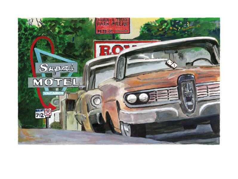 Bob Dylan, 'Classic Car Show, Cleveland, OH - Medium', 2016