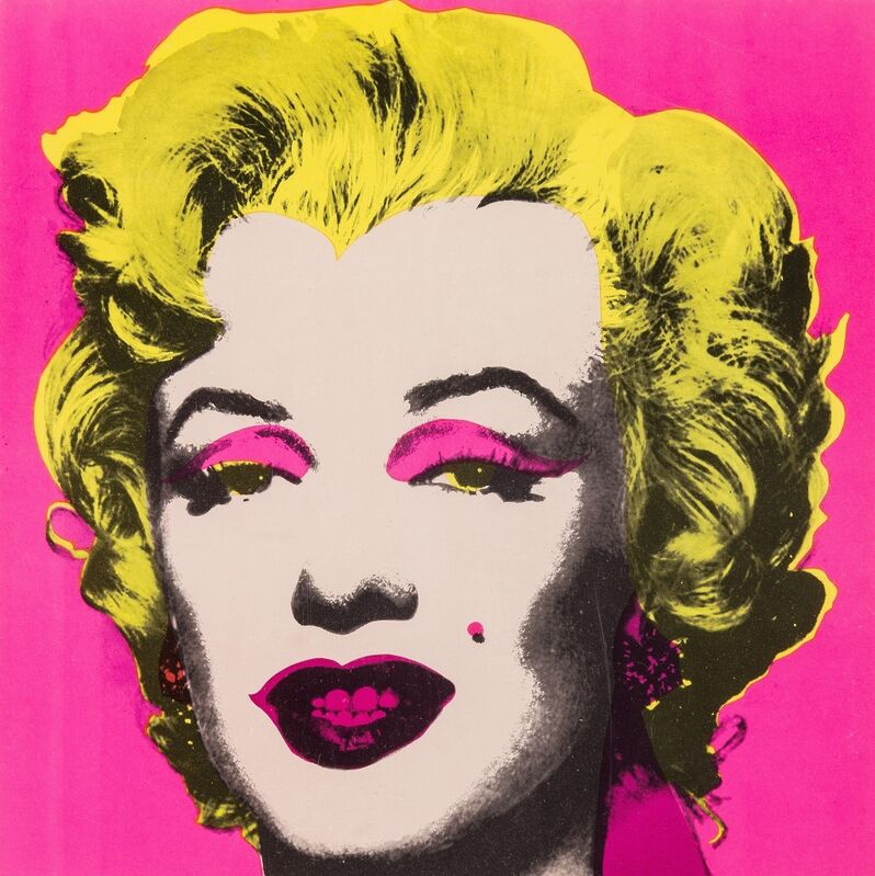 Andy Warhol, 'Marilyn Invitation (Not in Feldman & Schellmann)', 1981, Print, Offset lithograph with screenprint in colours, Forum Auctions