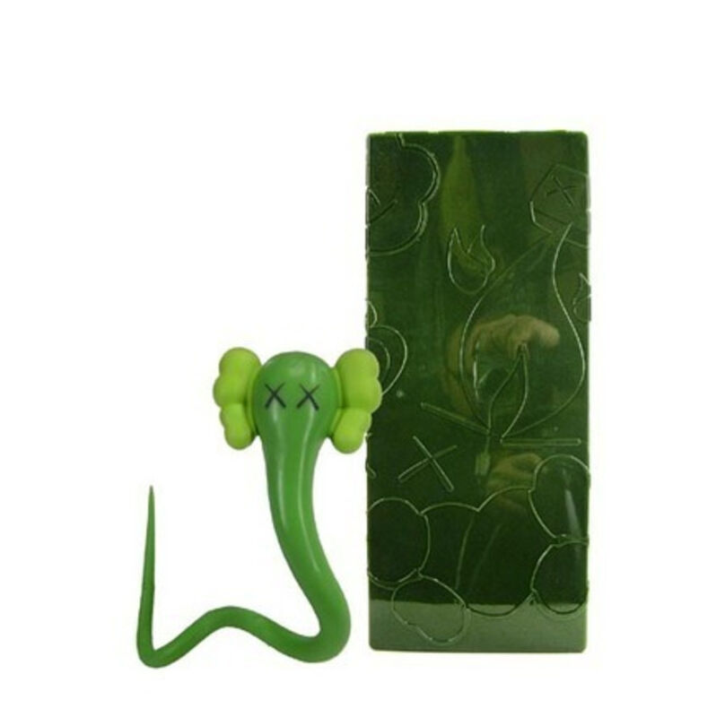 KAWS, 'Bendy (green)', 2004, Sculpture, Vinyl, Galerie C.O.A