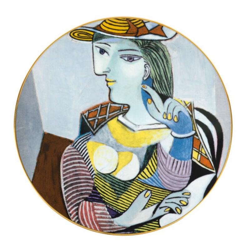 Pablo Picasso, 'Portrait of Marie-Thérèse Platter', 2015, Design/Decorative Art, Porcelain from Limoges with silver trim, Artware Editions