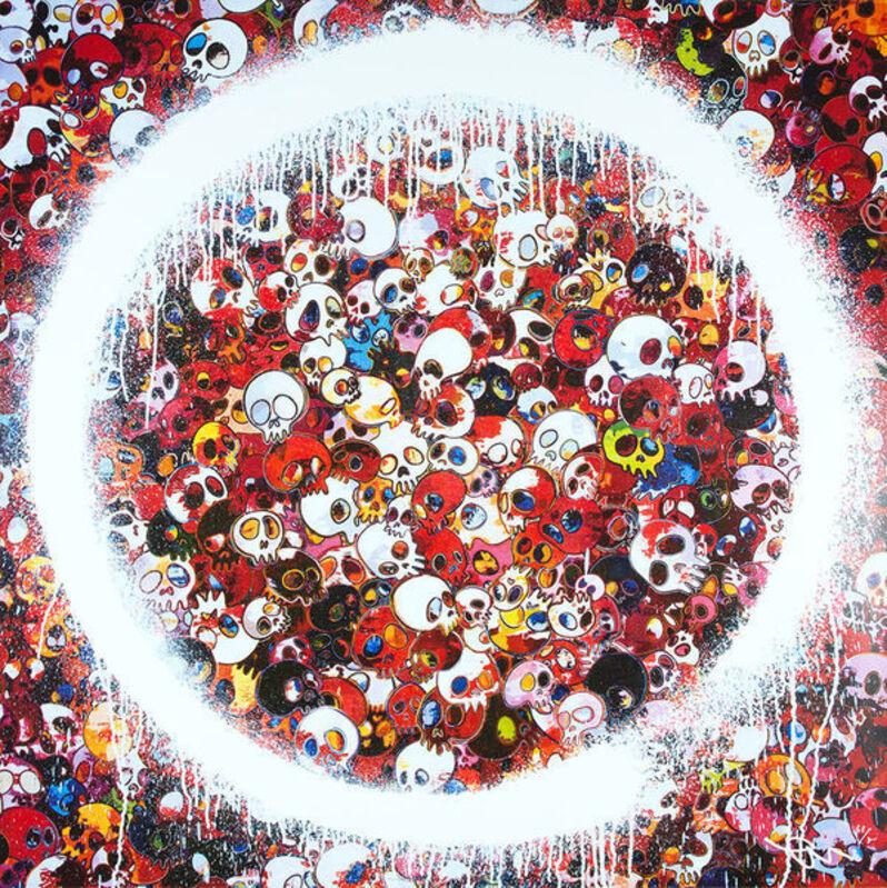 Takashi Murakami, 'ENSO: MOMENTO MORI RED', 2016, Print, Offset Lithograph, Marcel Katz Art