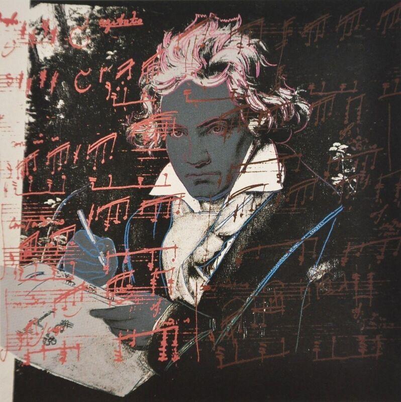 Andy Warhol, 'Beethoven (FS II.393)', 1987, Print, Screenprint on Lenox Museum Board, Revolver Gallery