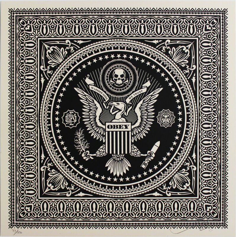 Shepard Fairey, 'Presidential Seal', 2011, Print, Screenprint, EHC Fine Art Gallery Auction