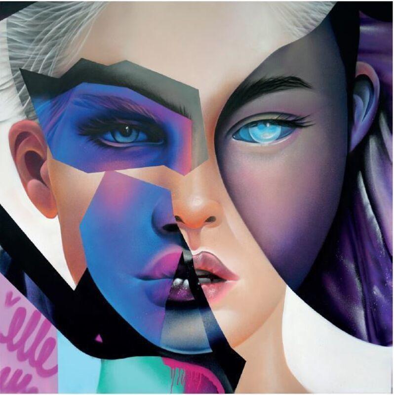 ELLE, 'NOW', 2019, Painting, Aerosol on canvas, Vroom & Varossieau